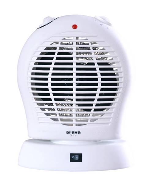 Biely ventilátor Orava