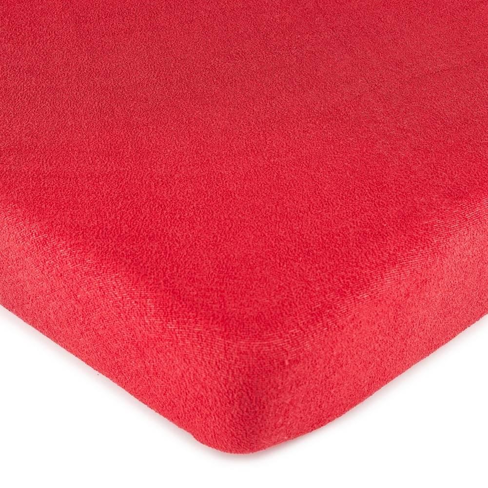 4Home 4Home froté prestieradlo červená, 160 x 200 cm