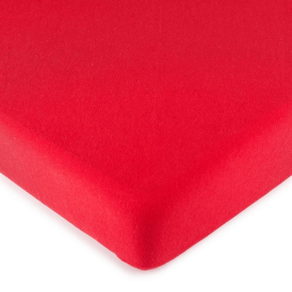 4Home 4Home jersey prestieradlo červená, 90 x 200 cm