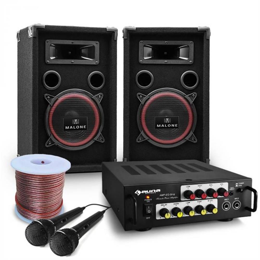 "Electronic-Star Electronic-Star DJ PA kompletný set ""Bass Noon"" s výkonom 600 W"