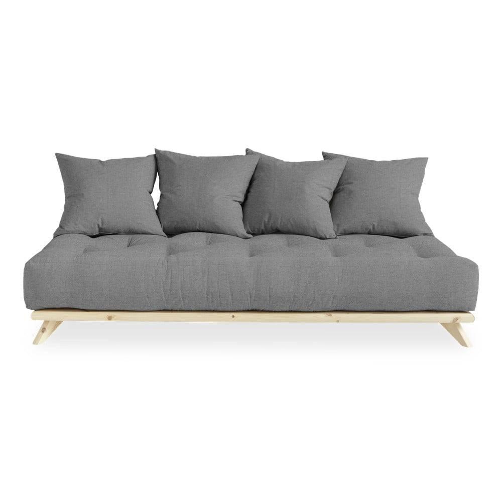 Karup Design Pohovka so sivým poťahom Karup Design Senza Natural/Granite Grey