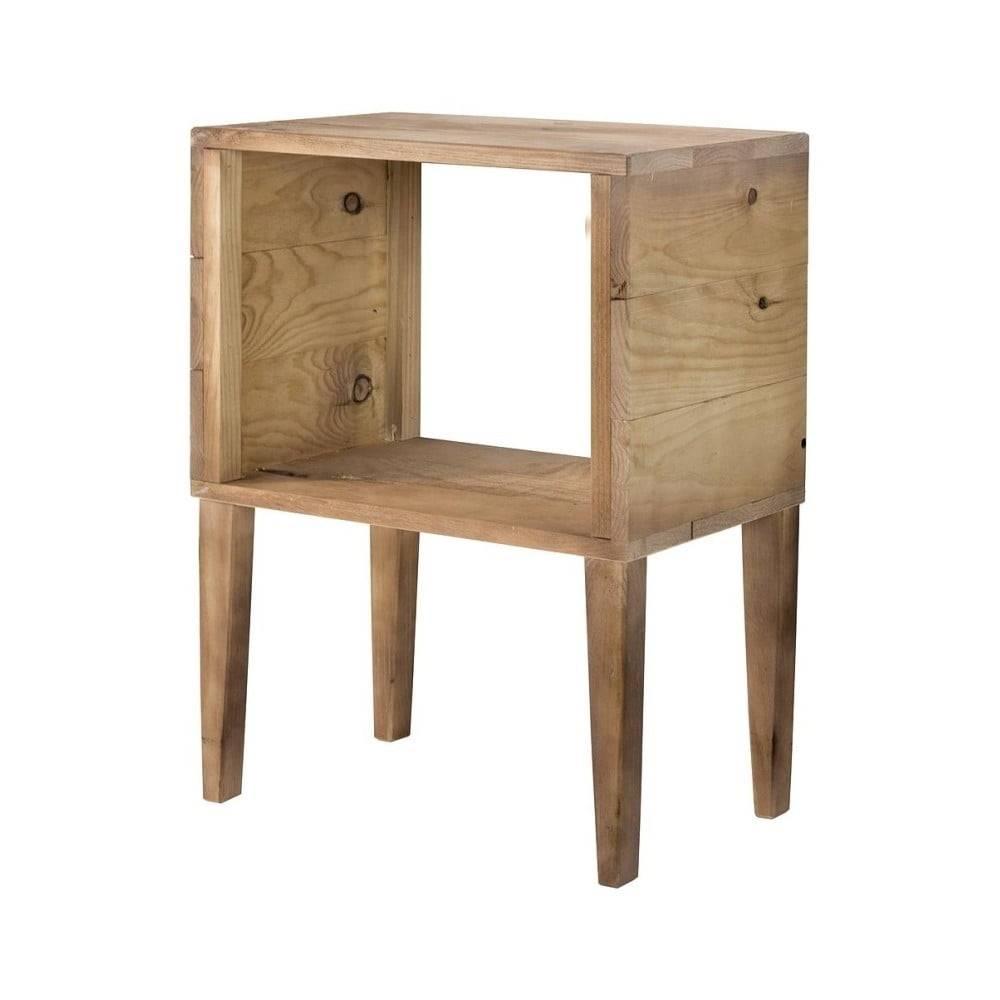Really Nice Things Odkladací stolík z borovicového dreva Really Nice Things