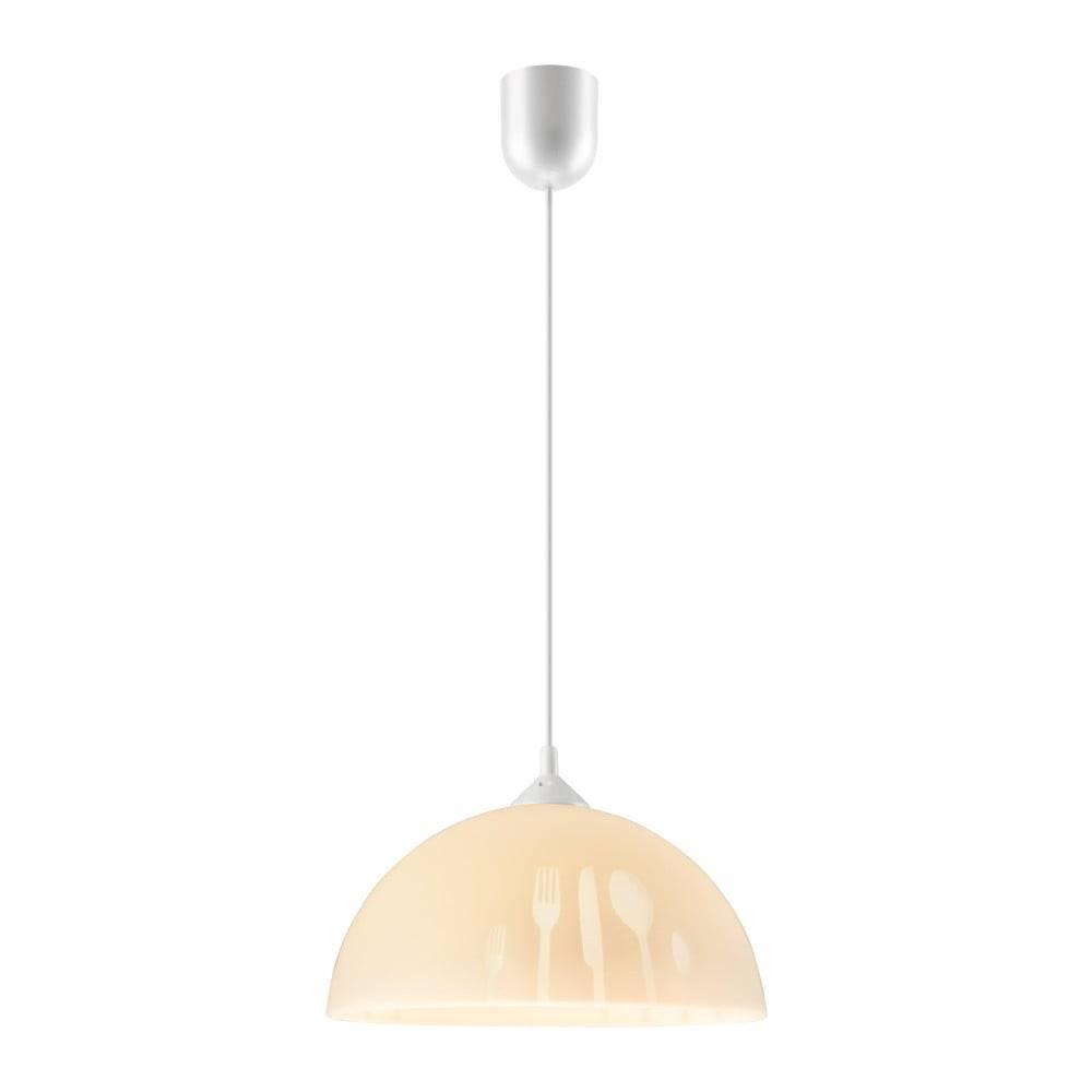 LAMKUR Béžové závesné svietidlo Lamkur Forks