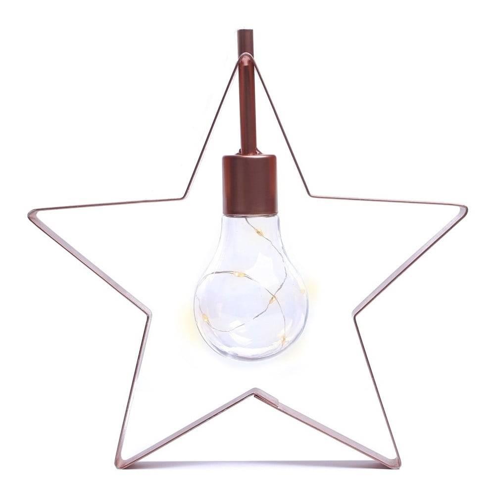 DecoKing LED svetelná dekorácia DecoKing Star, výška 23 cm