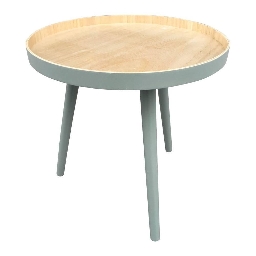 Odkladací stolík so zelenou...