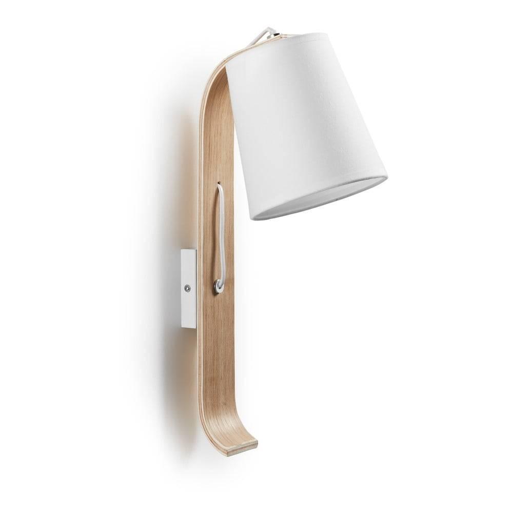 La Forma Biela nástenná lampa La Forma Percy