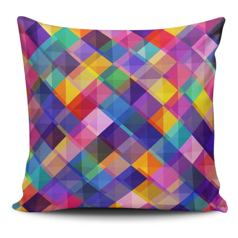 Cushion Love Obliečka na vankúš s prímesou bavlny Cushion Love Gyglo, 45 × 45 cm
