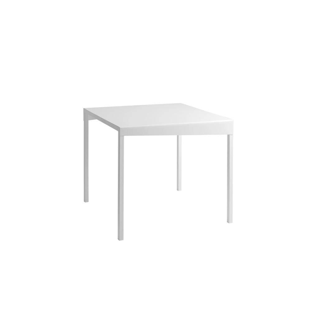 Custom Form Biely kovový jedálenský stôl Custom Form Obroos, 80 x 80 cm