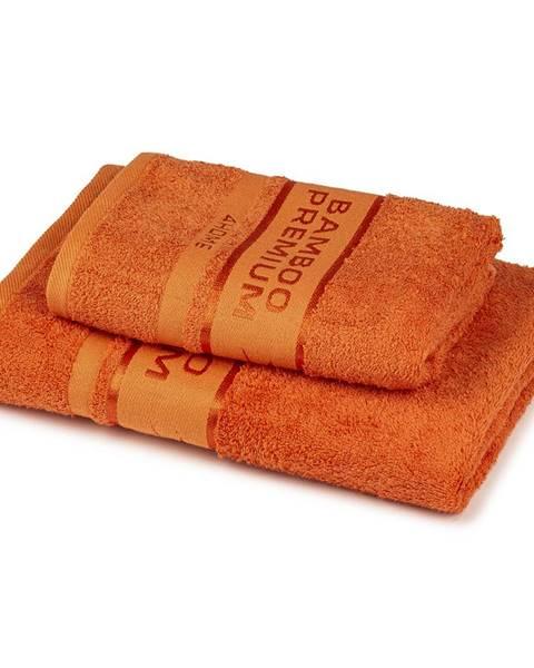 Oranžový uterák 4Home