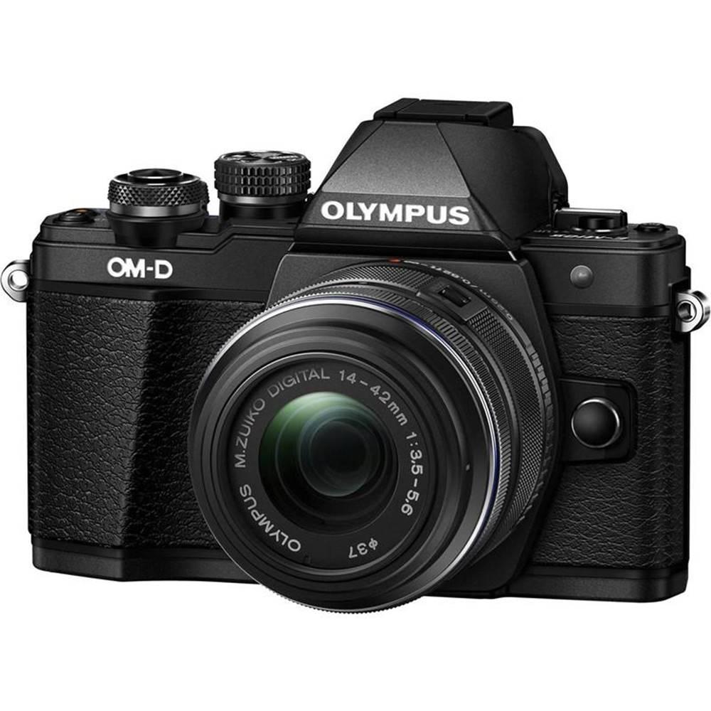 Olympus Digitálny fotoaparát Olympus E-M10 Mark II + 14-42 II čierny