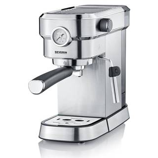Espresso Severin KA 5995 strieborn