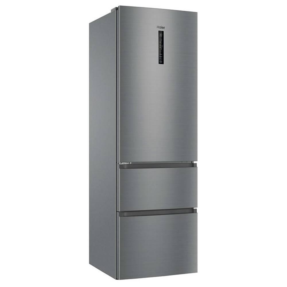 Haier Kombinácia chladničky s mrazničkou Haier Afe735chj Titanium