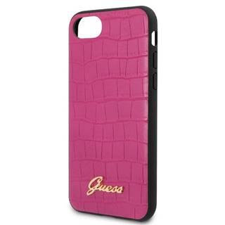 Kryt na mobil Guess Croco na Apple iPhone 8/SE