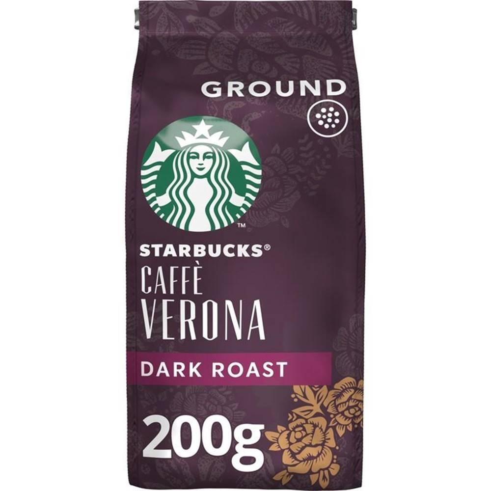 Starbucks Káva mletá Starbucks Dark Caffe Verona 200g