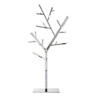 Vešiak v striebornej farbe Kare Design Tree
