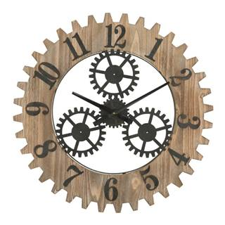Nástenné hodiny Mauro Ferretti Ingranaggio Plus, ø 60 cm