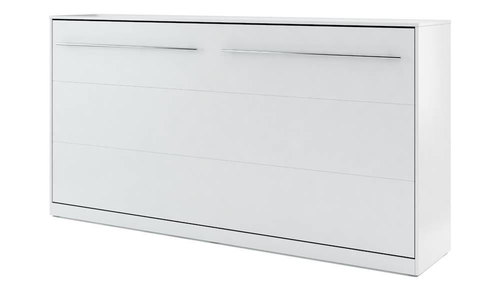 Sconto Výklopná posteľ CONCEPT PRO CP-04 biela matná