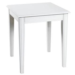 Prístavný stolík PROVENCE 4 biela